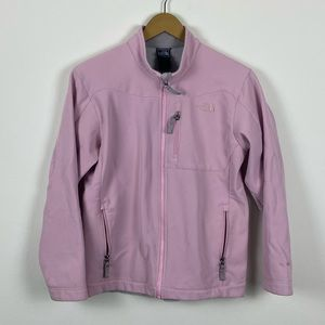The North Face Pink Full Zip Jacket Size XL